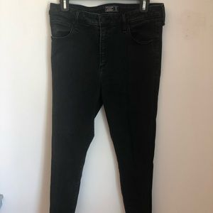 Abercrombie Simone High Rise Super Skinny Jeans